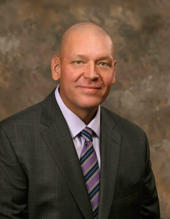 Mark Sulik in a suit.